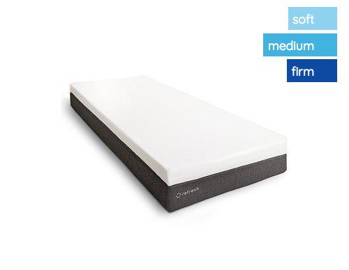 1 persoonsmatras soft medium firm comfort matras