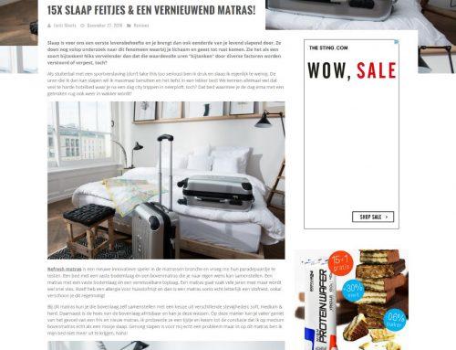 15x slaapfeitjes & een vernieuwend matras