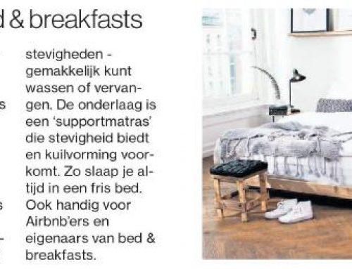 Fijn voor bed & breakfast